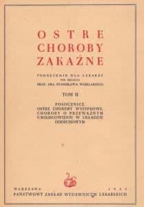 Wszelaki - Choroby zakaźne - stara książka